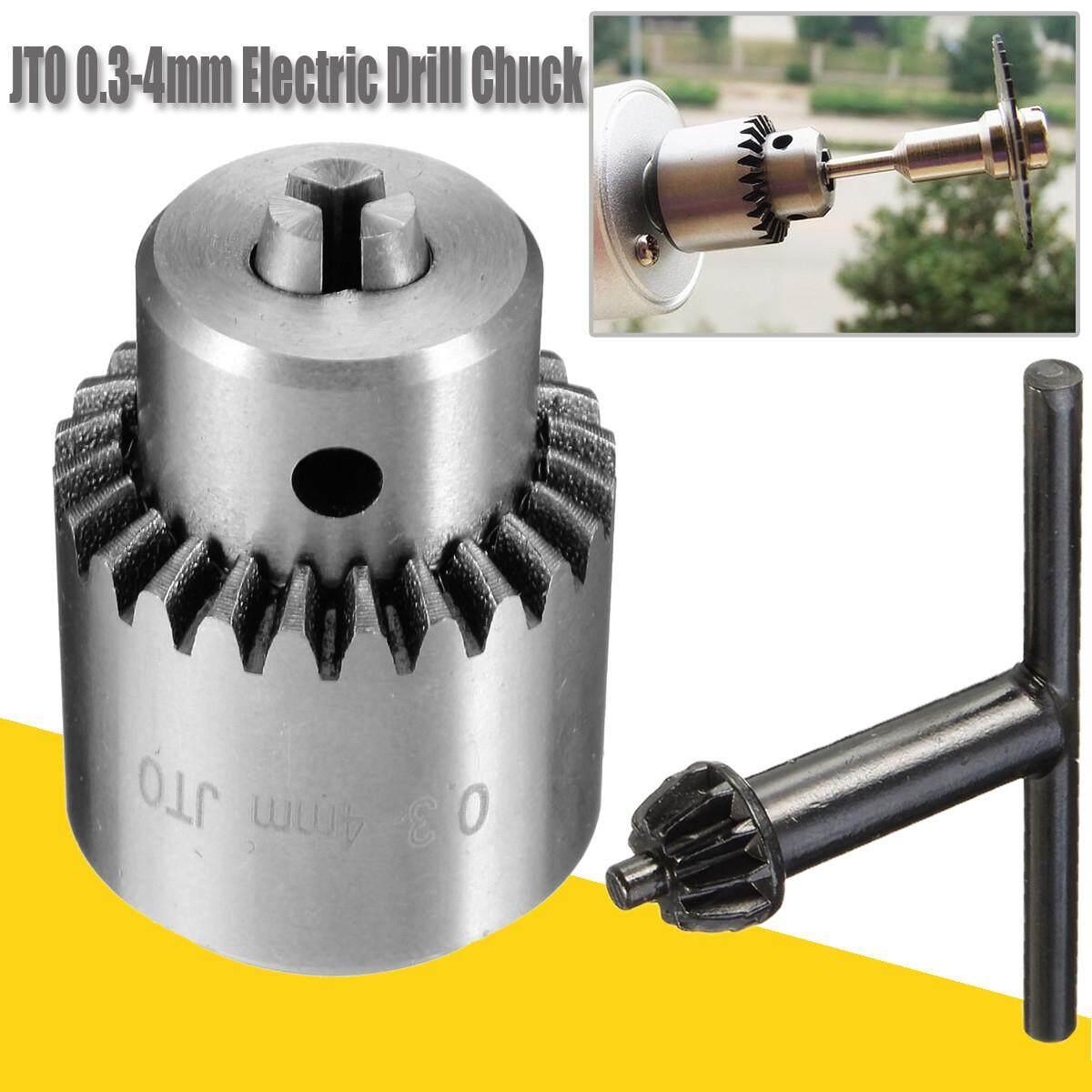 Listrik Mini 0.3-4 Mm Jt0 Bor Bubut Chuck Adaptor Lancip Alat Putar Poros Kunci