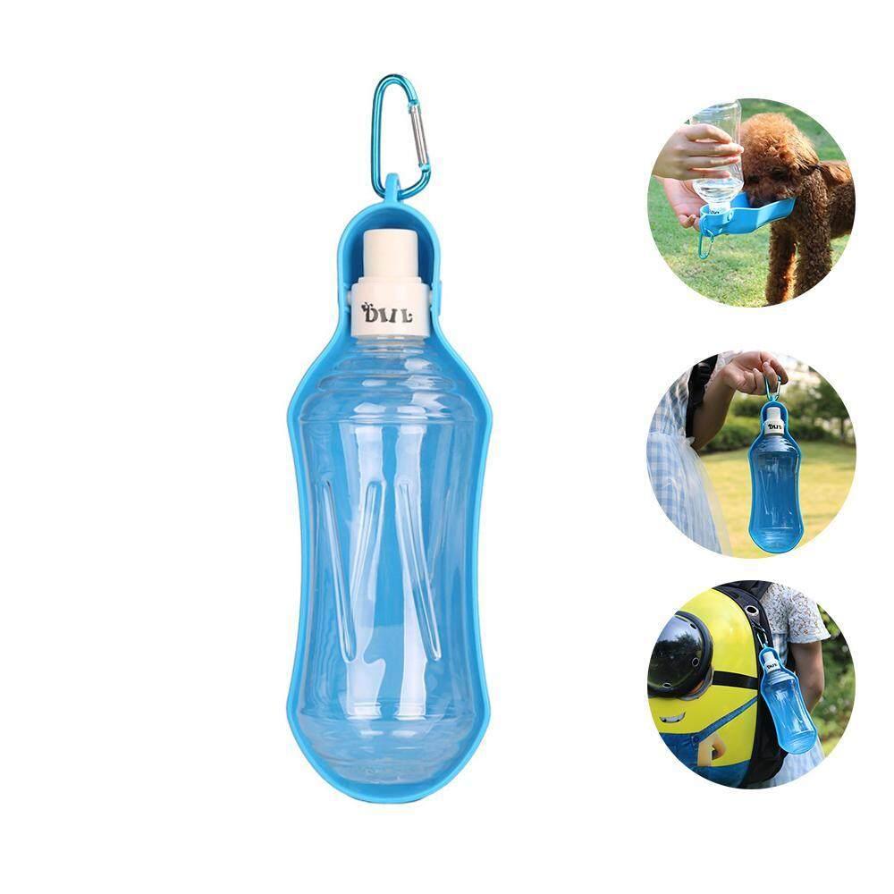leegoal Pet Travel Water Bottle Portable Dog Cat Drinking Bottle Foldable Water Dispenser Bowl Kettle For