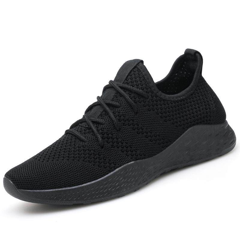 Summer Fashion Sneakers Sport Running Shoes Outdoor For Men Black - Intl By Overseas Xp Supermarket.