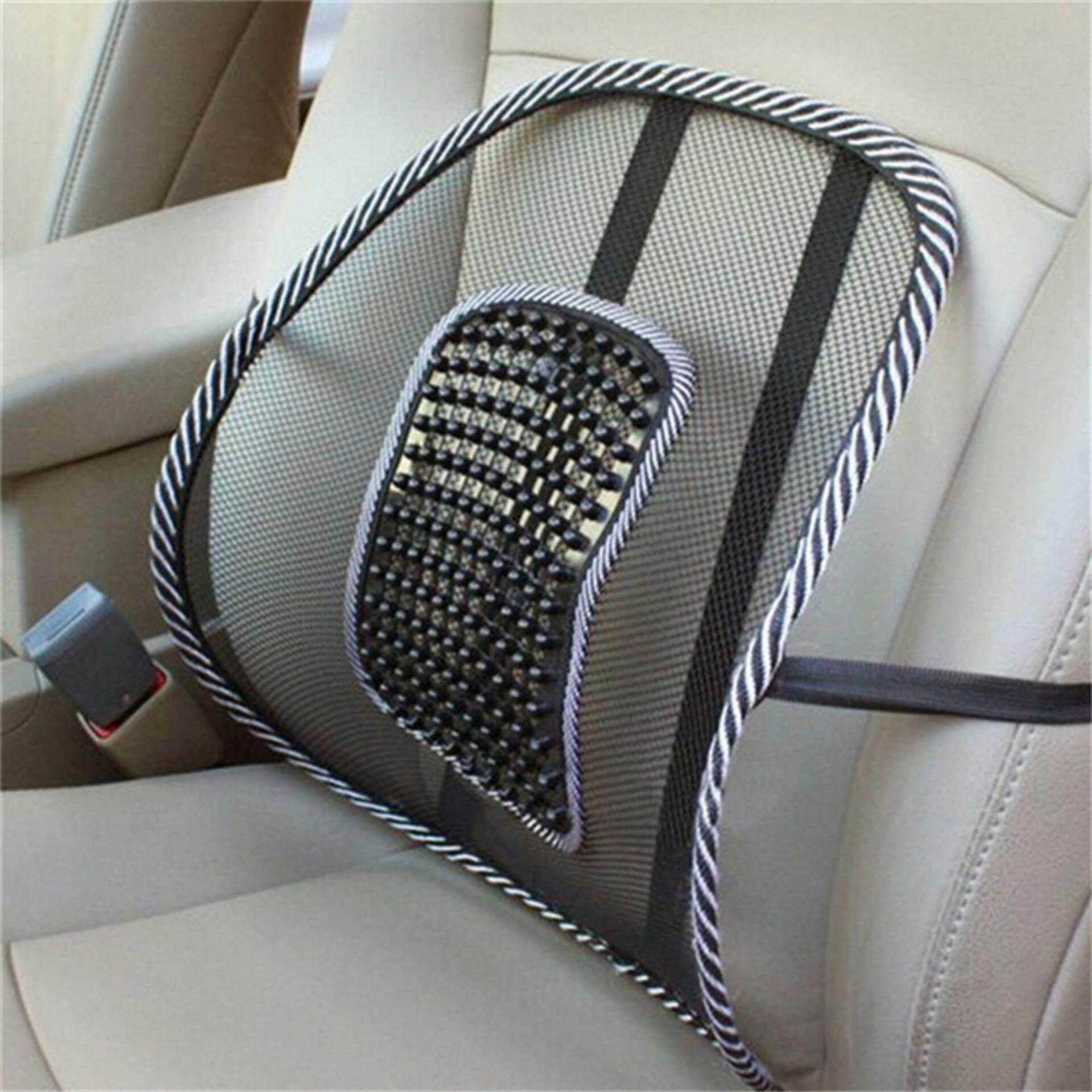 Mesh Lumbar Seat Back Support Senderan Kursi Jok Mobil Kesehatan Sandaran Penyanggan Punggung Autocar Sarung Gambar Produk Penyangga Hitam Selengkapnya Source Massage Vent Lower Brace