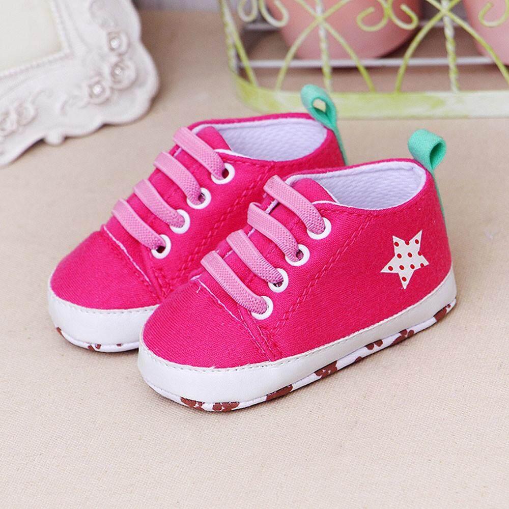 Cocol Max Bayi Bayi Baru Lahir Kartun Laki-Laki Perempuan Lembut Prewalker Sepatu Datar Kasual Sepatu By Cocolmax.