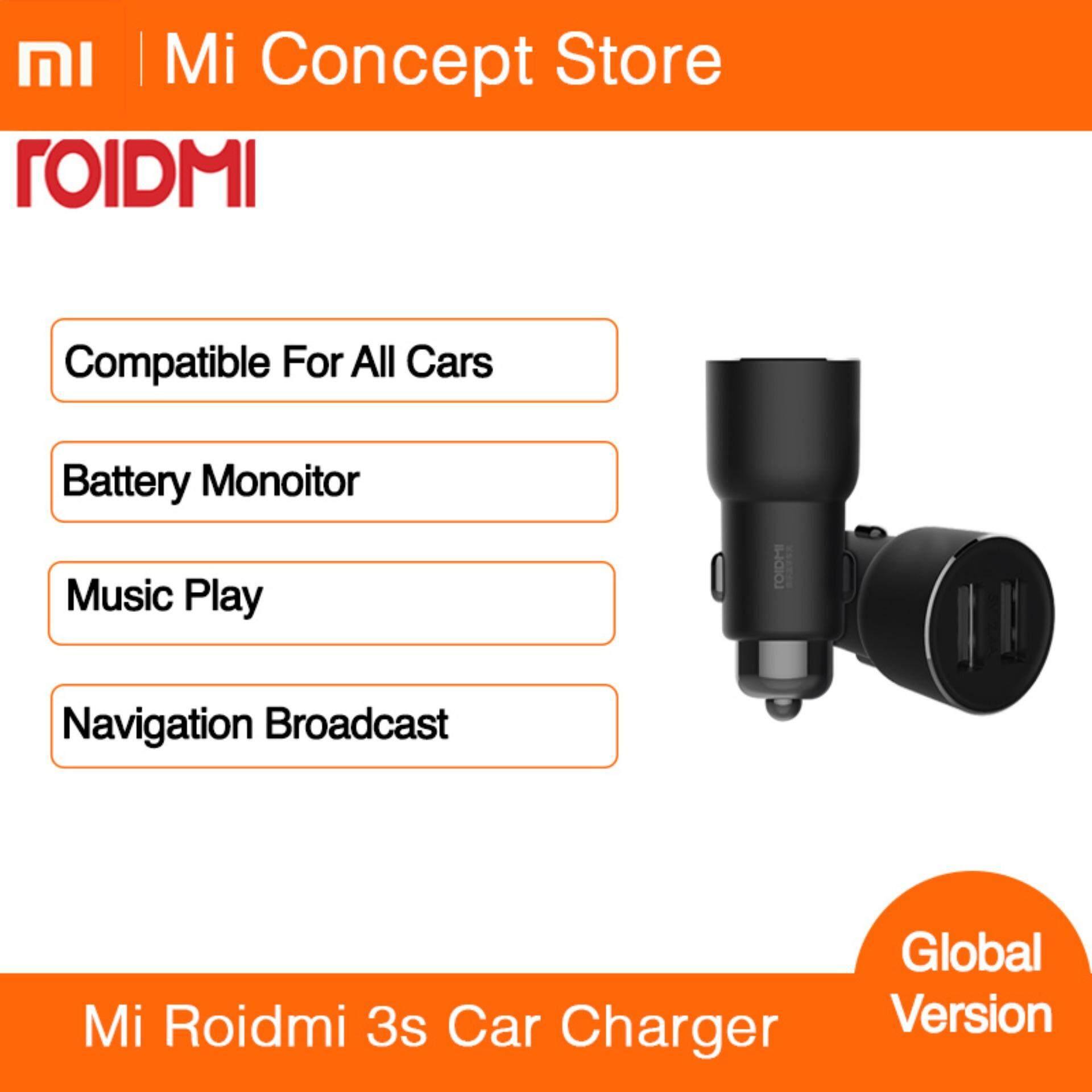 Mi Roidmi Music Bluetooth Car Charger 3s