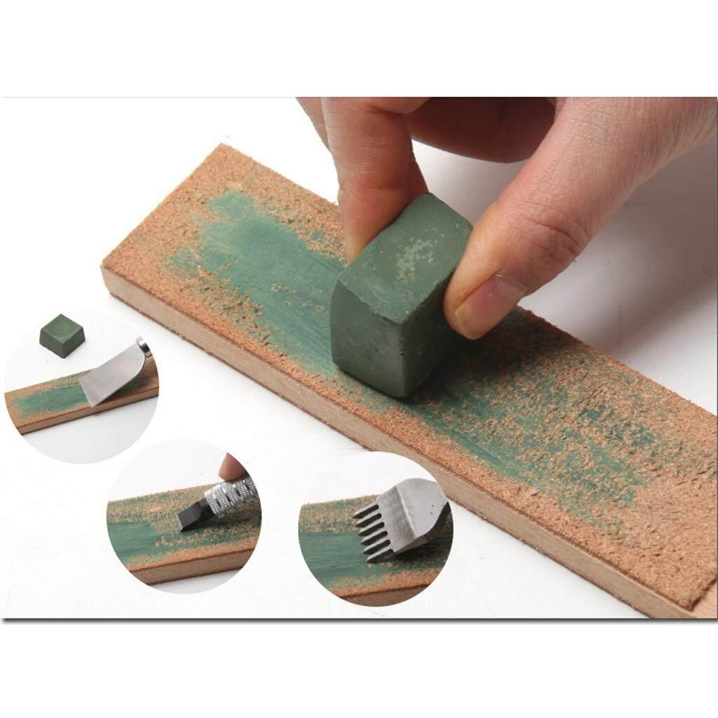 Hình ảnh MagiDeal Green Alumina Rouge Abrasive Polishing Paste Buffing Compound Metal Grinding