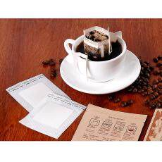 MagiDeal 100pcs Cafe Serve Disposable Drip Coffee Filter Bag - Hanging Ear Drip Coffee Bag -