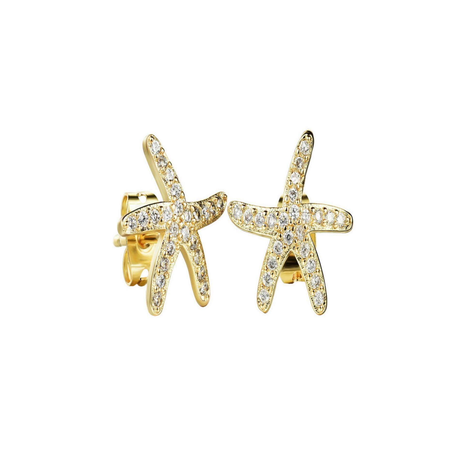 Stud Earrings For Sale Pin Online Brands Prices The Special Gift Cocoa Jewelry Anting Elegant Love Yoursfs Starfishroses Austria Crystal Cute Women Girls Wedding Rose Gold Color Korean