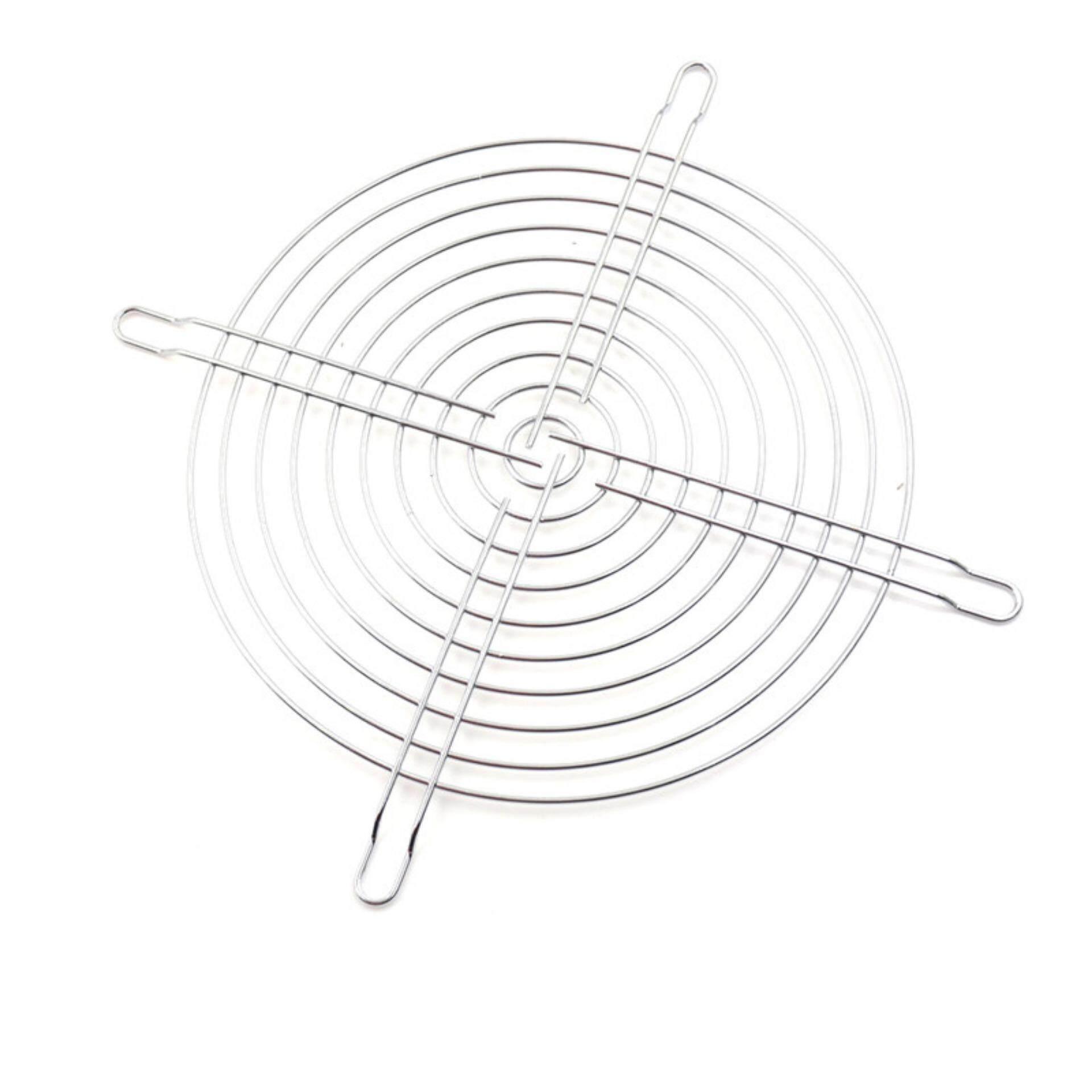 Hình ảnh 18cm Metal Wire Finger Guard 180mm CPU Fan DC Fan Grill/Guard Protector One Size - intl