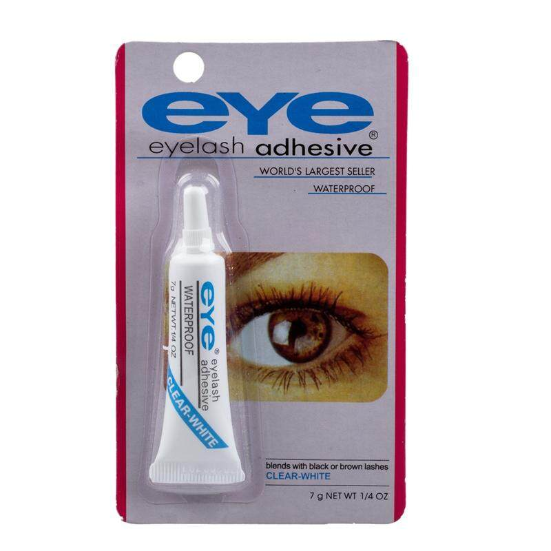Waterproof False Eyelashes Makeup Adhesive Eye Lash Glue(clear-White) - Intl By Sunnny2015.