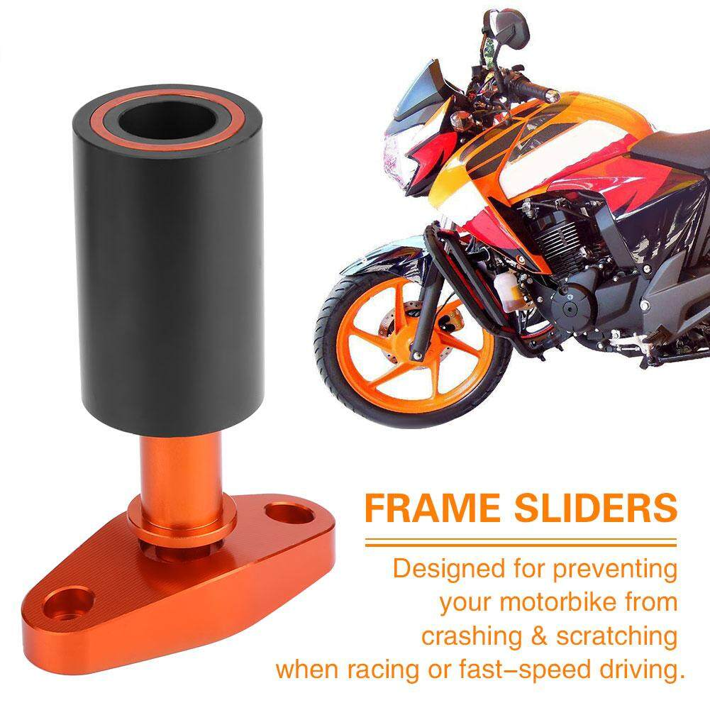 Motorcycle CNC Frame Sliders Anti-Crash Pad Falling Protector for KTM DUKE  125 200 390 12-15