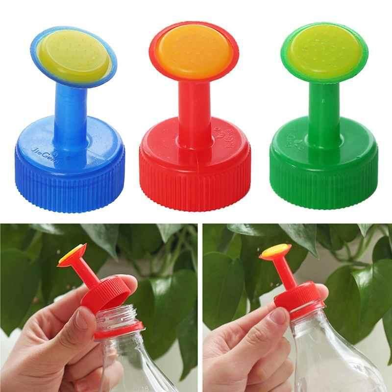 M_home 1 PC Rumah Tangga Plastik Pancuran Kepala Bentuk Nosel Penyiraman Ketel Botol Tutup Penggantian Sprayer Watering Alat-Internasional