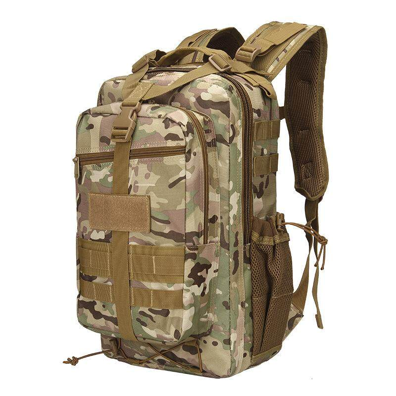 Oxford Large Capacity Waterproof Military Camouflage Camping Bag 14 Inches Laptop Bag Backpack By Glimmer.