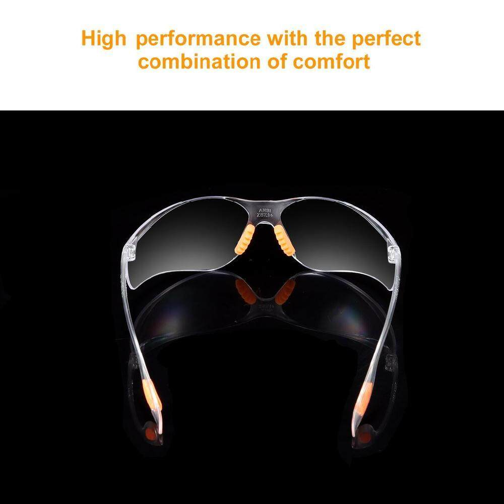 ... Burstore Eye Protection Anti Fog Clear Protective Safety Glasses For Lab Outdoor Work - 3 ...