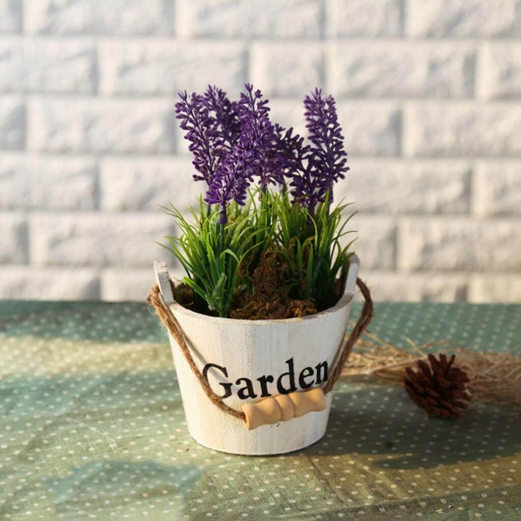 JYSK - Tanaman Palsu ARTIFICIAL PLANT 17F113. Source · Fityle Assorted Artificial Potted Lavender Flower Plants White Pot Purple Flower