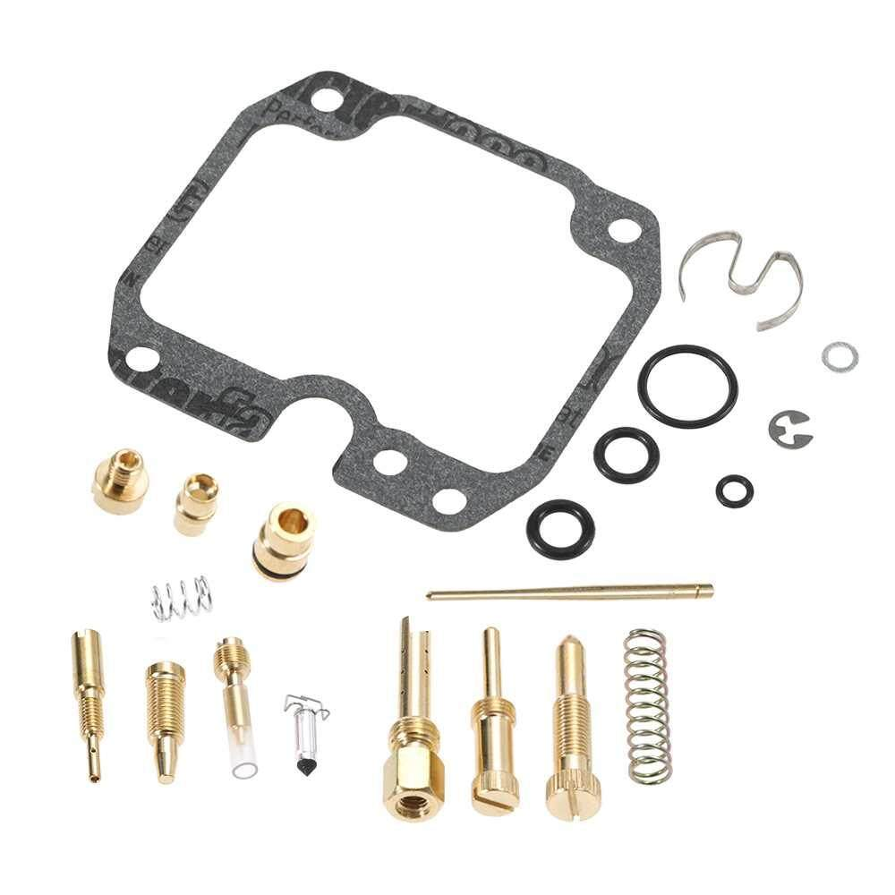 Burstore for Kawasaki Bayou 250 2003-2006 Carburetor Repair Kit Carb Rebuild Kit - intl