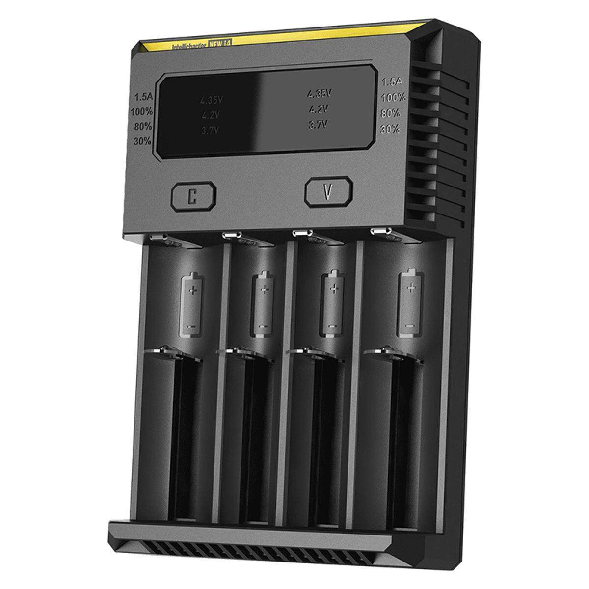 Nitecore New I4 Battery Charger - Black (eu Plug) - Intl By Sea Center.