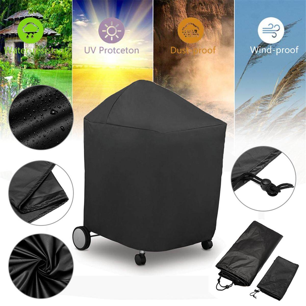 107*84*102cm Barbeque BBQ Grill Cover with Storage Bag for Weber 7151 Grill Performers Folding Table