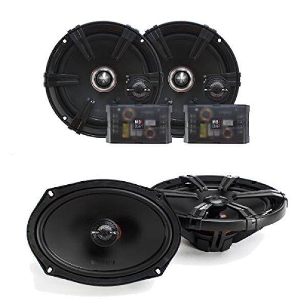 MB Quart Z Series 6.5 Inch Component Set 6x9 Coaxial bundle / From USA