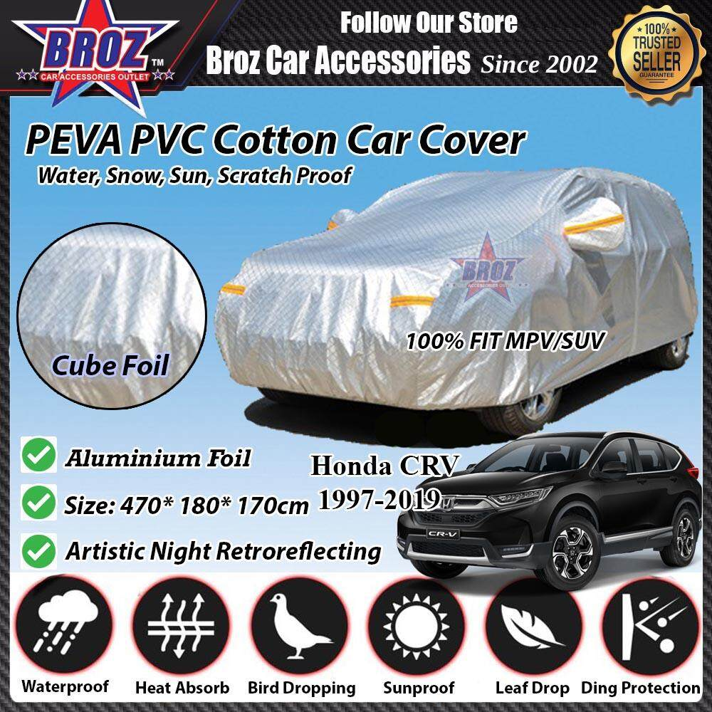 Honda CRV Car Body Cover PEVA PVC Cotton Aluminium Foil Double Layers - MPV