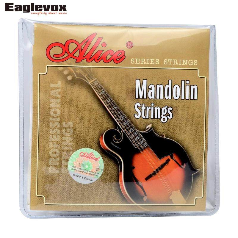 Alice Mandolin Strings 0.011/0.040 inch Plated Steel 85/15 Bronze Wound AM05 Malaysia