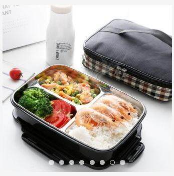 Stainless Steel Insulated Bento Lunch Box