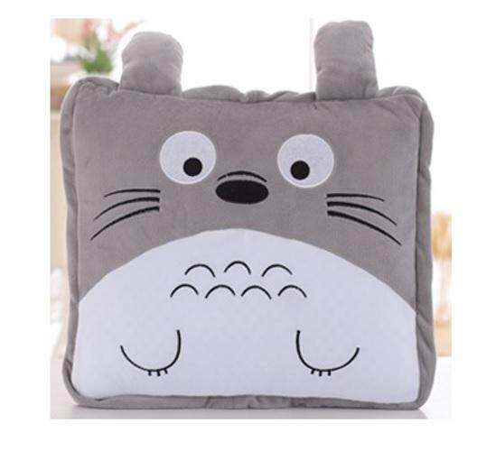 GOODPLANET 3 IN 1 Plush Cartoon Foldable Throw Blanket Pillow Cushion
