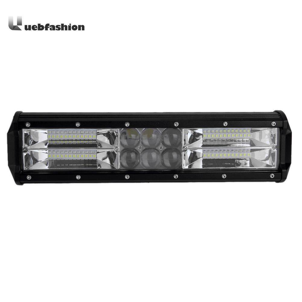 DICN 12in Tri-row 240W 8100LM LED Work Light Bar Off-road Driving Lamp - intl Philippines