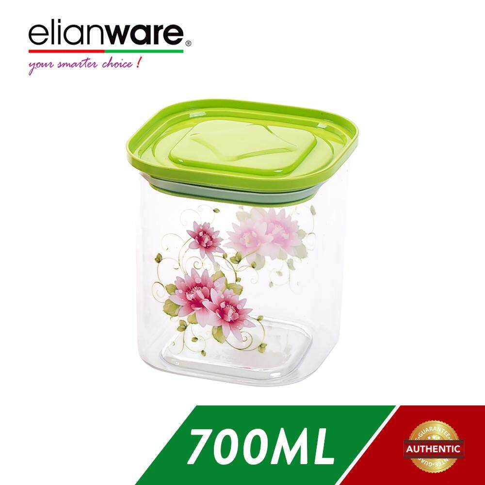 Elianware 700ml Transparent Airtight Canister