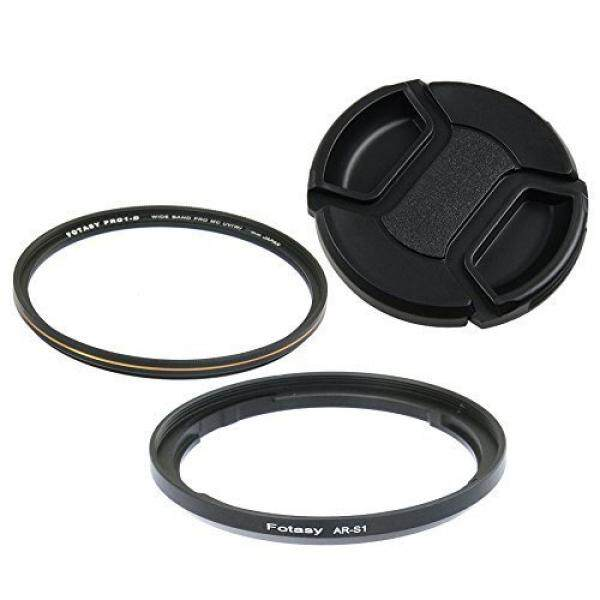 Fotasy S167K Fotasy 67mm Adapter Replaces RN-S1+ Nano MRC MC UV Filter Cap for FUJIFILM FinePix S1 Camera (Black)