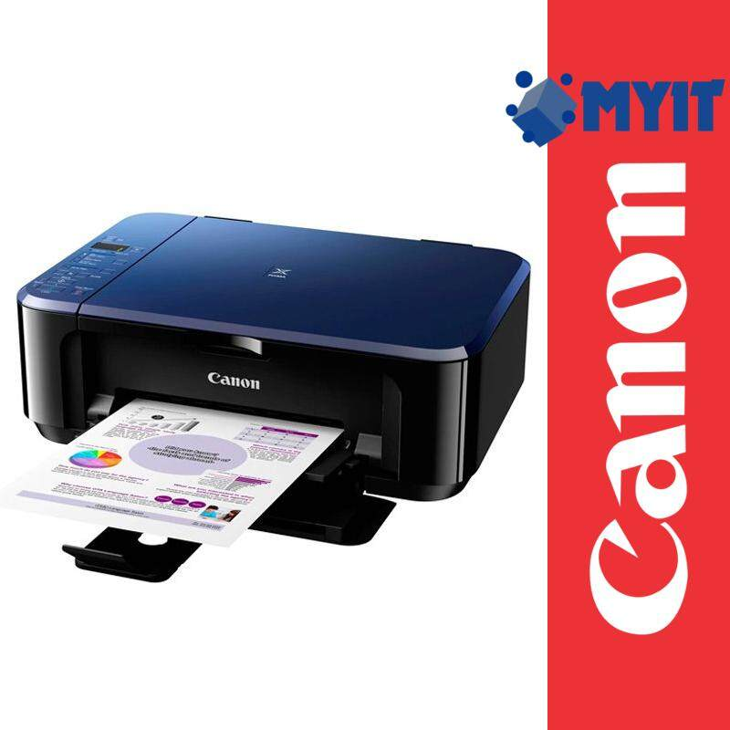 Canon PIXMA E510 AIO 3 in 1 Inkjet Printer A4 Photo Borderless Printing (Print / Scan / Copy, 3 Years Warranty)