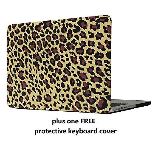 MacBook Pro 13 Case Cover – Treasure21 Slim fit Smart protection Soft rubber coating Smooth better grip Hard case shell cover for Macbook Pro 13 A1278 (Leopard) - intl