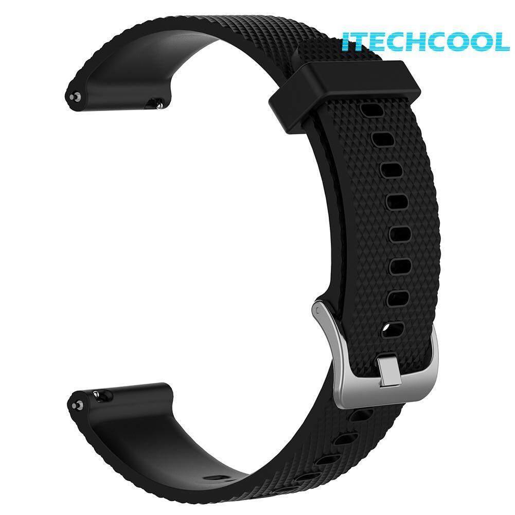 Silicone Replacement Watch Band Strap Wristband for Samsung Gear Sports Garmin Vivoactive3 Vivomove HR Smart Watch