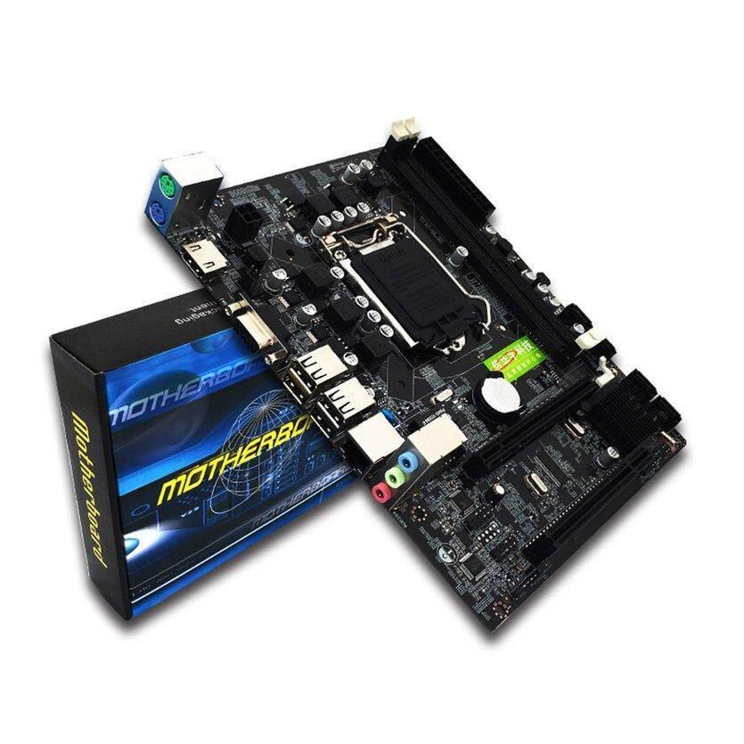 Desktop Motherboard komputer untuk Intel H55 HDMI LGA 1156 Pin DDR3 Mainboard