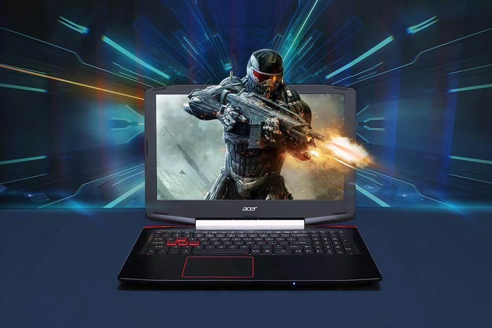 Acer VX5-591G-58AX Gaming Laptop 15.6 Inch Windows 10 Home Versi Cina Intel Core I5-7300HQ Quad Core 2.5 GHz 8 GB Ram 128 GB SSD + 1 TB HDD HDMI Tipe-C