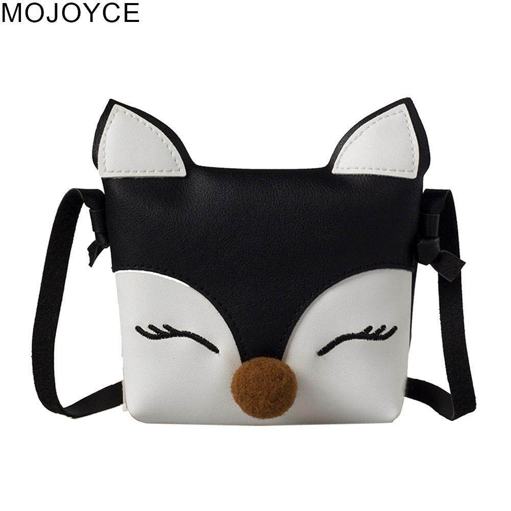 Mojoyce Cute Baby Kids Fashion Fox Wallet Kids Shoulder Handbags Girls Flap Crossbody Mini Bags Gift By Mojoyce Official Store.