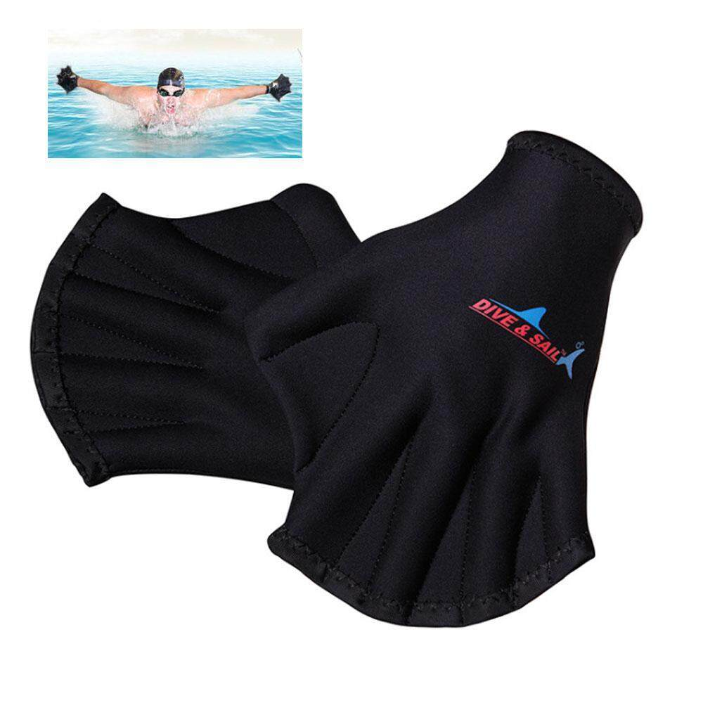 Leegoal Berenang Pria Dan Wanita 2 Mm Sarung Tangan Menyelam Snorkeling Surfing Tahan Gores Tahan Air Wanita Hand Guard Peralatan-Intl By Leegoal.