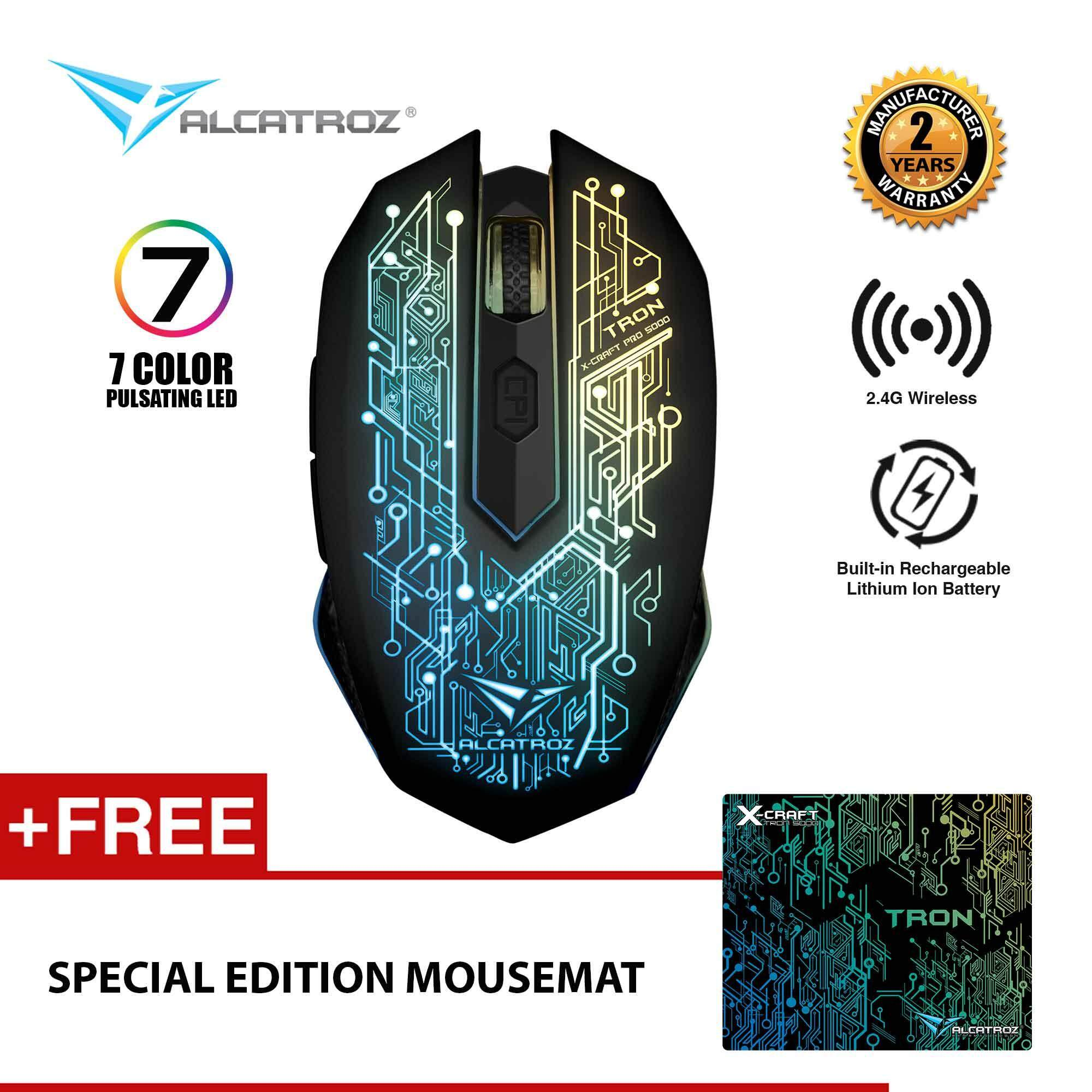 Gaming Mice For The Best Prices In Malaysia James Donkey 102 1600dpi 6d Wireless Optical Mouse Black X Craft Air Tron 5000 Rechargeable 3200 Cpi Free Mousemat