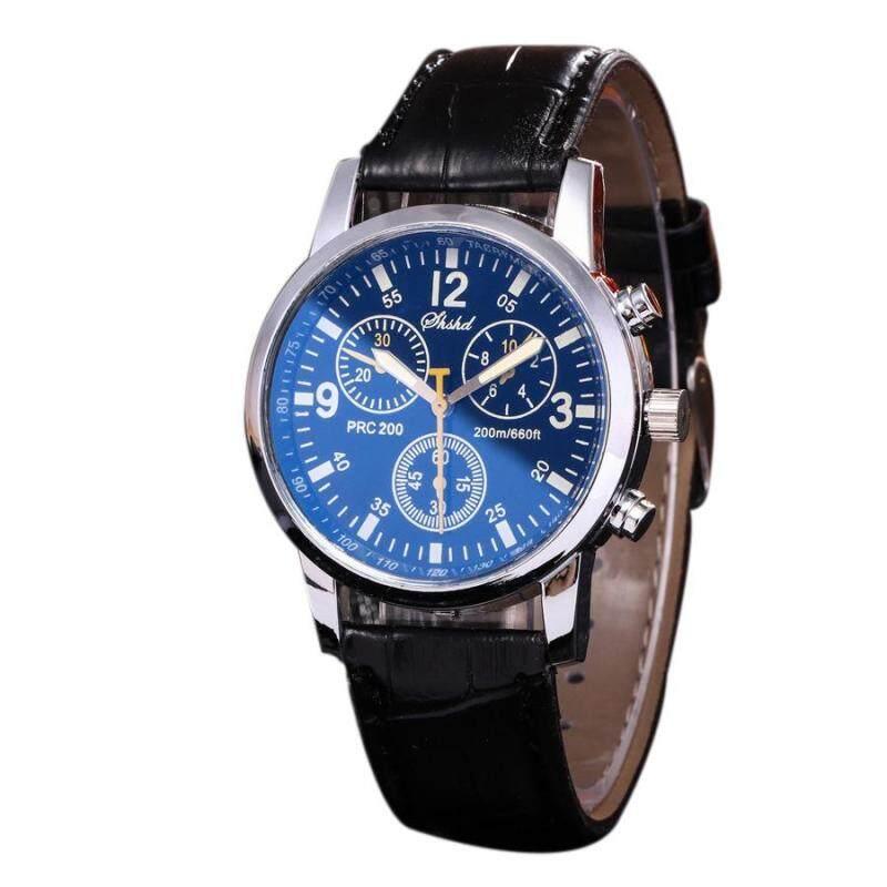 Anliner F8 Fashion Quartz Black Leather Watch Malaysia