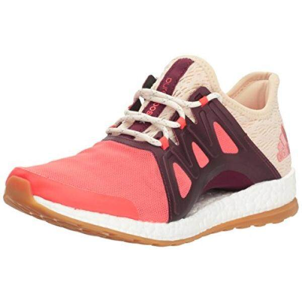 57d95f0d45aaa ... inexpensive adidas originals womens pureboost xpose clima running shoe  easy coral white light maroon e1e1c e0281