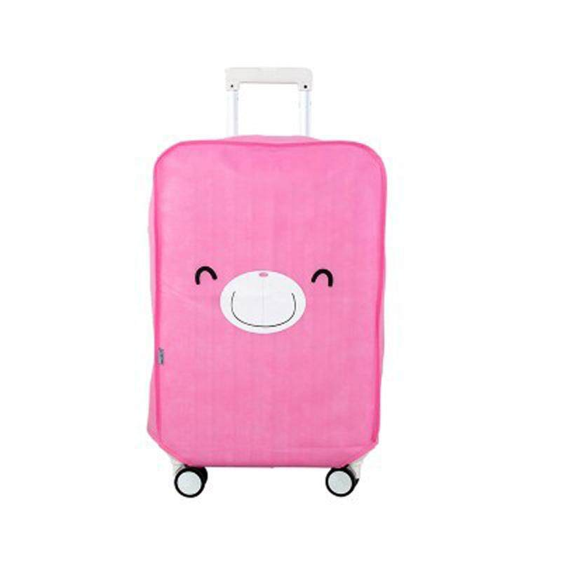 Cute animal high - grade thick non - woven trolley box waterproof wear - resistant protective