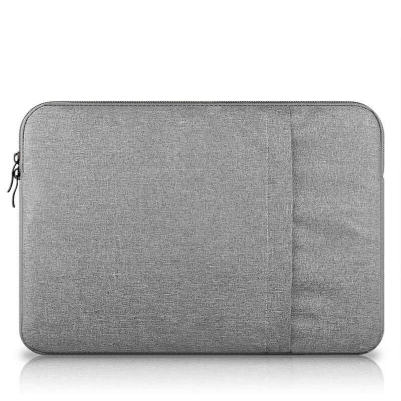 Nilon Sarung Laptop Tas Notebook Casing untuk MacBook Air 11 13 12 15 Pro 13.3 15.4 Retina Unisex Liner Lengan untuk Xiaomi Air untuk MACBOOK AIR 12 Inch (Biru Tua)