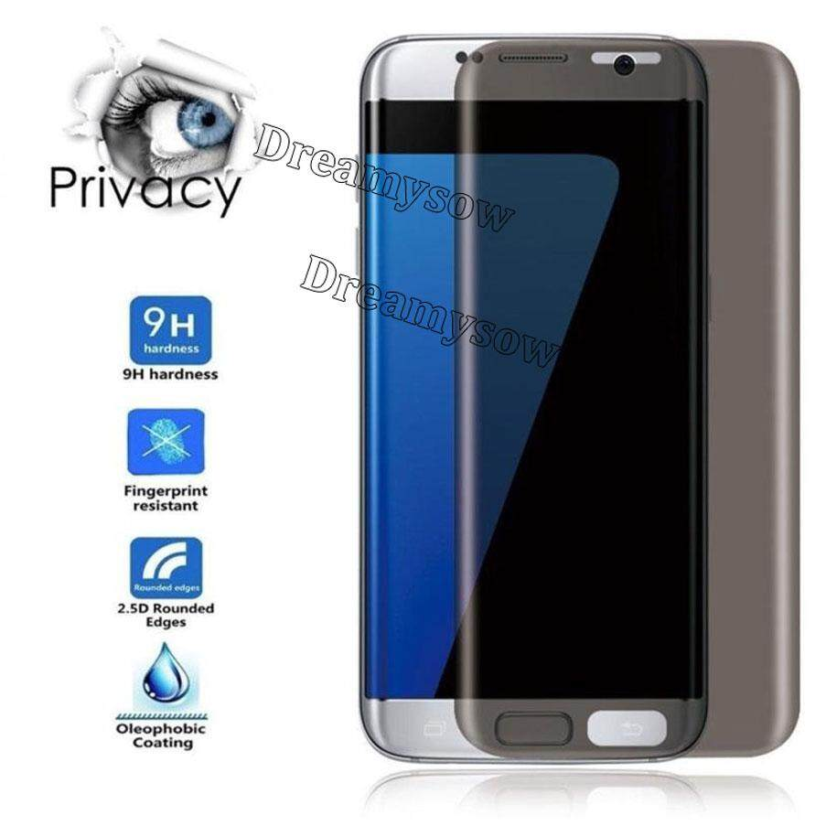 Features 2pc Lot 3d Full Cover Nano Coating Front Tempered Glass Premium Half Curved Glue Uv Liquid Light Samsung S8 Plus S9 For Galaxy S7 Edge Anti Spy Screen Protector Display Protection Privacy