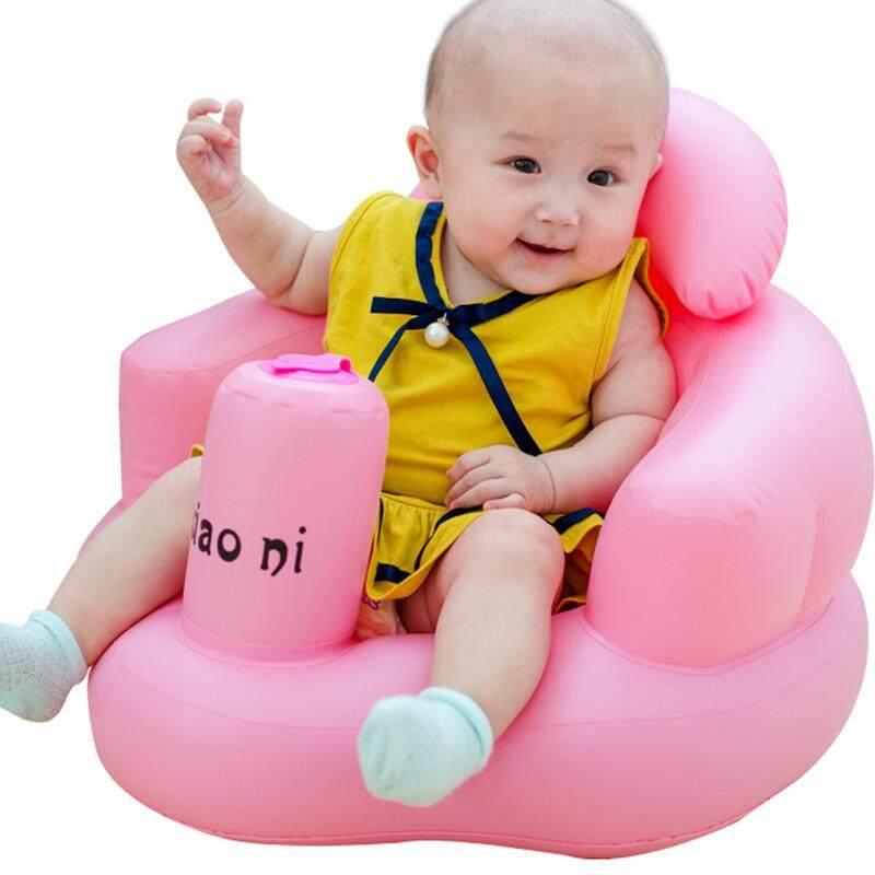 Bayi Anak Anak-Anak Dapat Diisi Angin Kamar Mandi Kursi Sofa Kursi Belajar Portabel Multifungsi-Internasional By Super Babyyy.