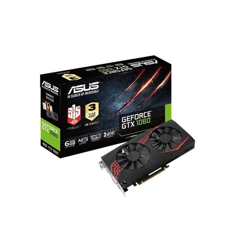 Uinn ASUS GeForce GTX 1060 6 GB ROG Strix OC Edition VR (STRIX-GTX1060-O6G-GAMING)