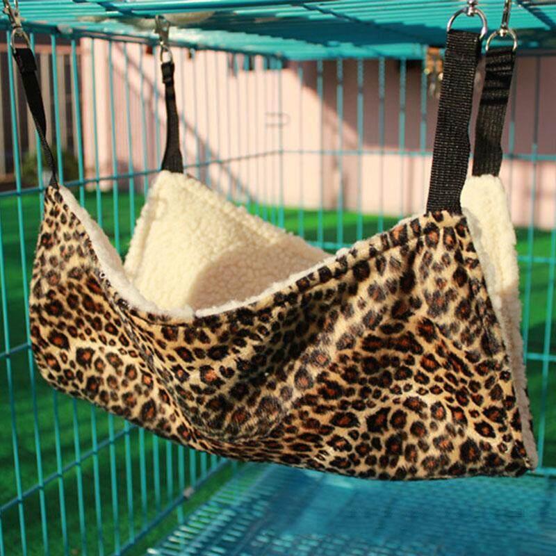 Hewan Peliharaan Anak Kucing Tempat Tidur Gantung Cushion Mat Kandang Besi Anjing 27*27 Cm Hewan Peliharaan Sarang Hangat-Intl