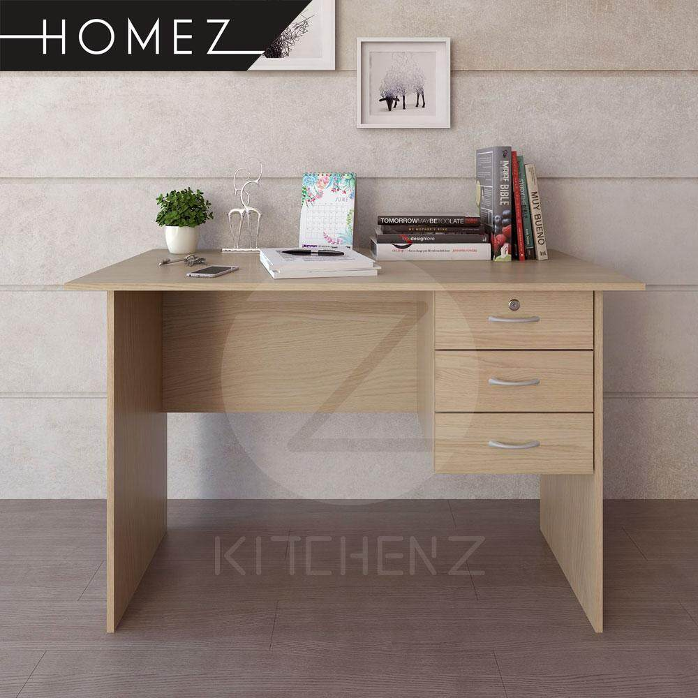 Homez Writing Table Hmz Wt Dt 2004 Solid Board With 1 Locker