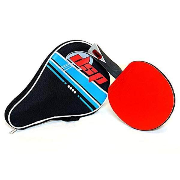 [From.USA]DSP ACE 860 Table Tennis Paddle - Competition ITTF certified Double Power Racket Rubbers -Ideal for Advanced or Intermediate Ping Pong Players looking for Speed, Spin and Control Includes Racquet Bag B01M4OB8BO - intl