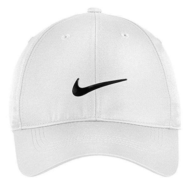 a06f7754f61 Nike Authentic Dri-FIT Low Profile Swoosh Front Adjustable Cap - White -  intl