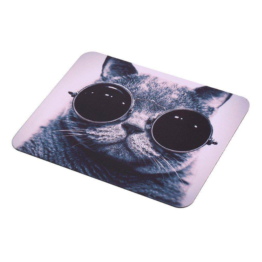 Hot Sales Cat Picture Anti-Slip Laptop PC Mice Pad Mat Mousepad For Optical Mouse