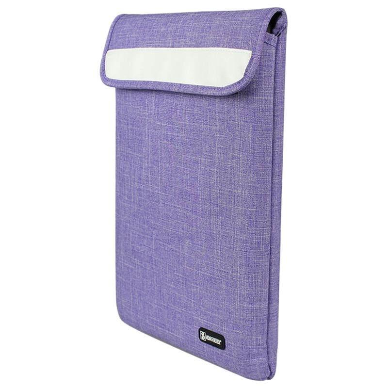 Sheng Bei Ini Adalah Sarung Casing Tas untuk Laptop 12 Inch, Tas Notebook, untuk Mac Book Air/Pro Tas Laptop (Ungu) -Intl