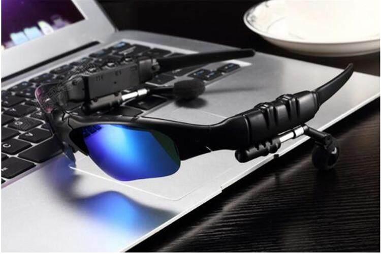 Olahraga Bluetooth Nirkabel Headset Kacamata Warna-warni Berkuda dengan Mikropon Bebas Genggam Menjawab Panggilan Mp3