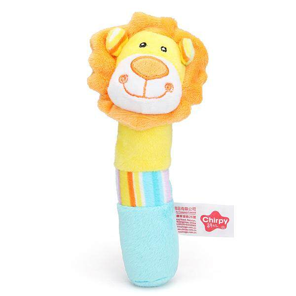Baby Infant Soft Plush Cute Giraffe Hand Stick Animal Education Toy By Moonbeam.